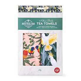 Australian Native Birds - Tea Towels