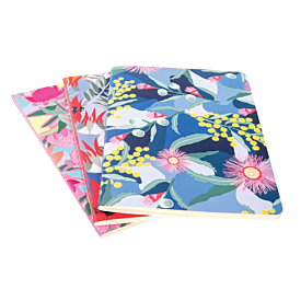 Australian Collection A5 Notebooks - Botanical - Set of 3