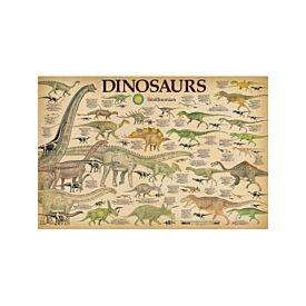 Smithsonian Dinosaur Poster