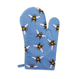Bee Print - Cotton Oven Glove