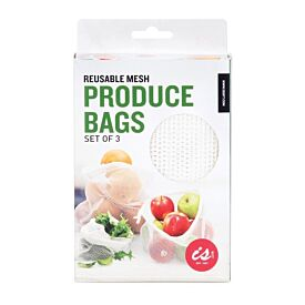 Reusable Mesh Produce Bags Set of 3