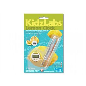 Kidz Labs Lemon Clock