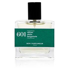 Eau de parfum 601: vetiver, cedar and bergamot
