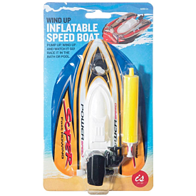 Wind-Up Inflatable Speed Boat
