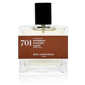 Eau de parfum 701: eucalyptus, coriander and cypress