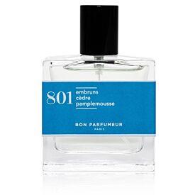 Eau de parfum 801: sea spray, cedar and grapefruit