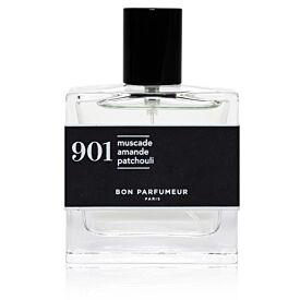 Eau de parfum 901: nutmeg, almond and patchouli