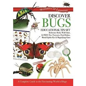 Wonders of Learning: Discover Bugs Educational Tin Set