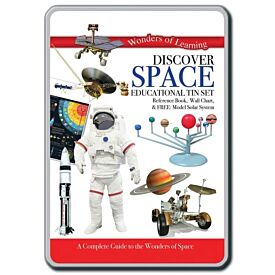 Wonders of Learning: Discover Space Educational Tin Set