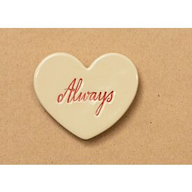 Always Heart Ceramic Magnet