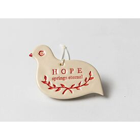 Hope Bird Christmas Decoration