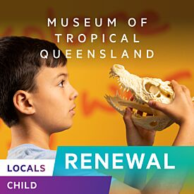 Locals Annual Pass Renewal - CHILD (3-15yrs)