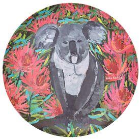 Bamboo Plate - Koala