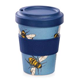 Bamboo Reusable Cup - Bee Design