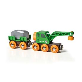 BRIO Vehicle - Clever Crane Wagon