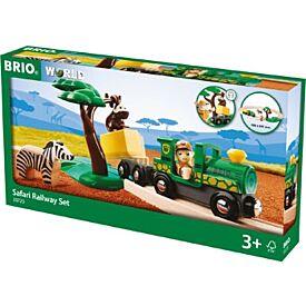 BRIO Set - Safari Railway Set