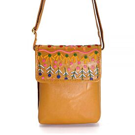 Embroidered Shoulder Bag - My Country