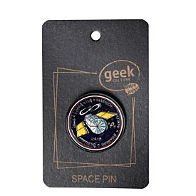 Enamel Pin - Hubble Telescope