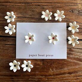 Paper Boat Press Daisy Stud Earrings