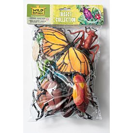 Insect Collection of 10 Toy Bugs