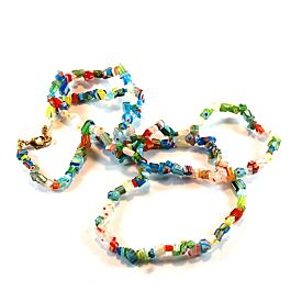 Mille Fiori Glass Bead Necklace