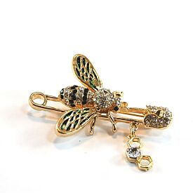 Bee Brooch With Pin