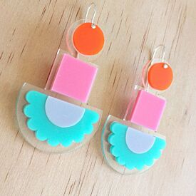 Happy Totem Drop Earrings