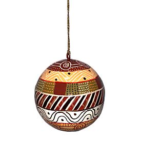 Christmas Bauble Indigenous Design