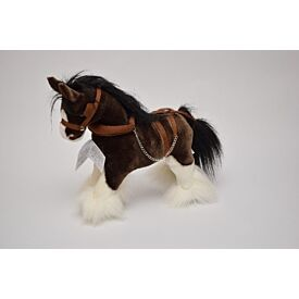 Small Clydesdale Soft Toy