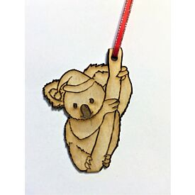 Australian Animal Wooden Tree Decoration