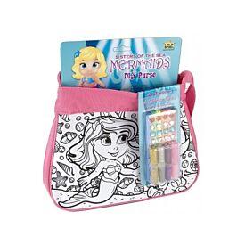 DIY Pink Mermaid Bag