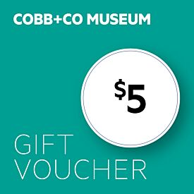 Cobb & Co $5 Gift Voucher
