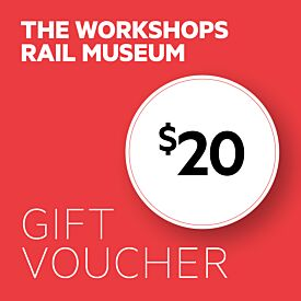 The Workshops Rail Museum $20 Gift Voucher