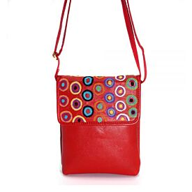 Embroidered Shoulder Bag - Walka - Tjulpun Tjulpunpa