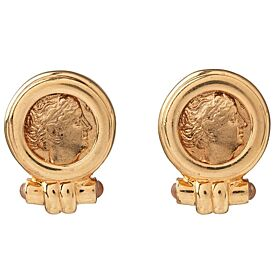 Roman Empress Coin Earrings