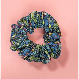 Have and to Hold Scrunchie-Liberty Strawberry Thief - Blue