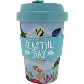Eco-to-Go Bamboo Travel Cup Sea Creatures