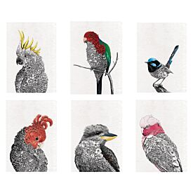 100% Cotton Tea Towel - Bird Designs