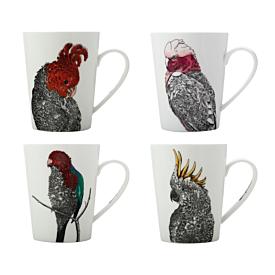 Marini Ferlazzo Birds Tall Mug